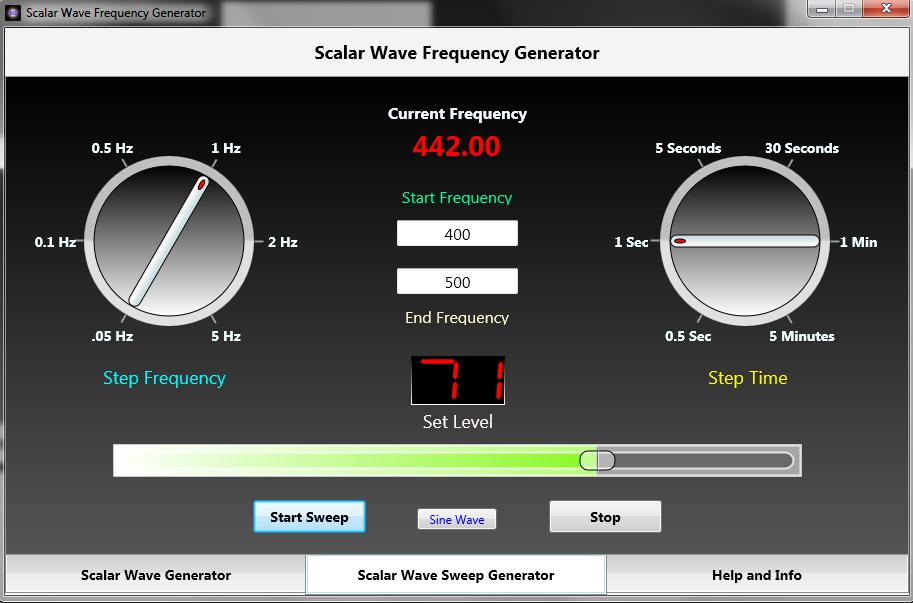 Scalar Wave Generator